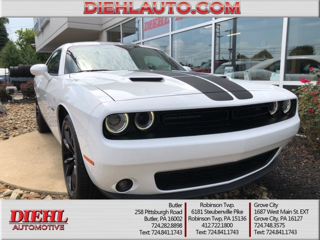new 2018 dodge challenger r t coupe in grove city 18d0709 diehl