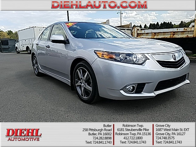 Pre-Owned 2014 Acura TSX 2.4 4D Sedan in Grove City #D170432B ...