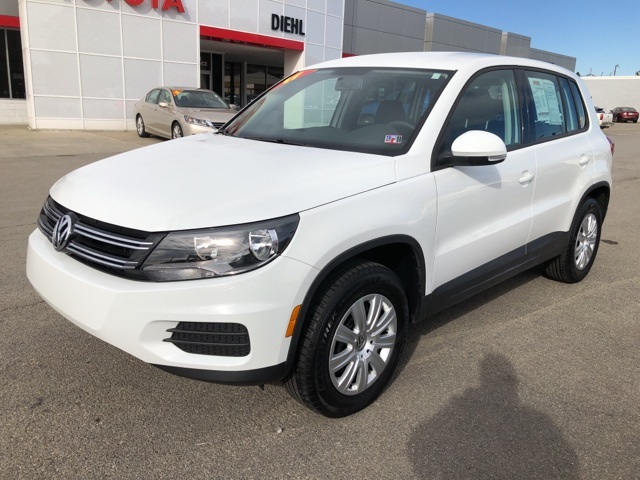 Pre Owned 2017 Volkswagen Tiguan 2 0t 4d Sport Utility In Grove City