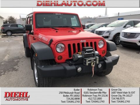 Pre-Owned 2013 Jeep Wrangler Unlimited Sport