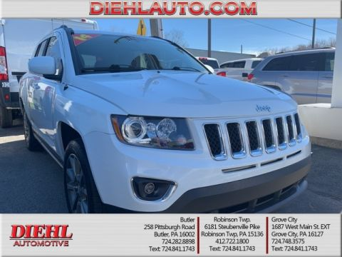 Certified Pre-Owned 2014 Jeep Compass Limited